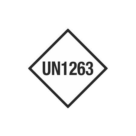 Limited Quantity Labels - UN1263 - 4 x 4