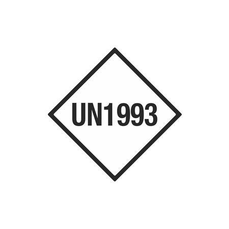 Limited Quantity Labels - UN1993 - 4 x 4