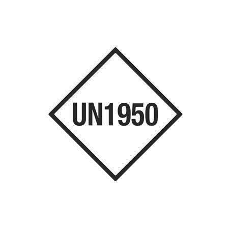 Limited Quantity Labels - UN1950 4 x 4