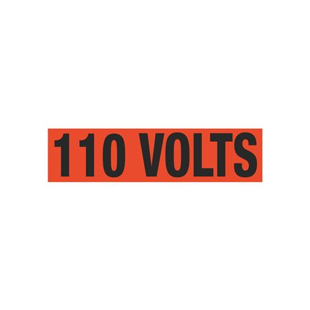 110 Volts Single Electrical Marker - EM1
