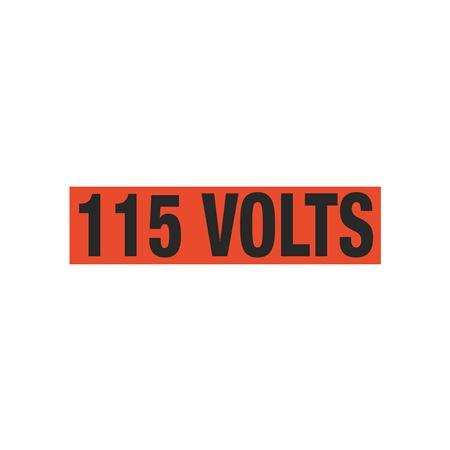 115 Volts Single Electrical Marker - EM1