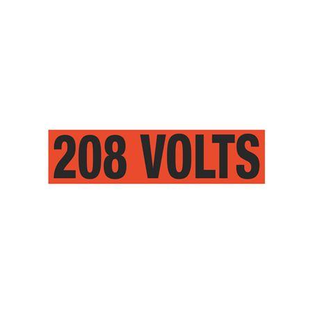 208 Volts Single Electrical Marker - EM1