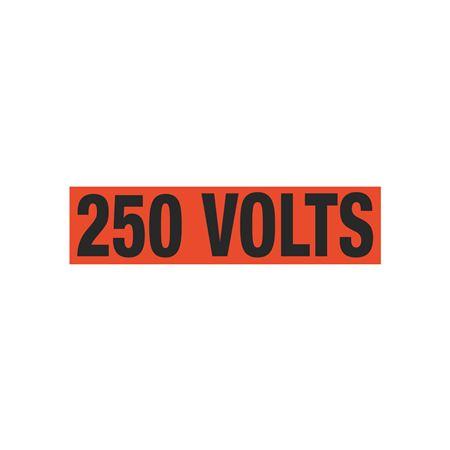 250 Volts Single Electrical Marker - EM1
