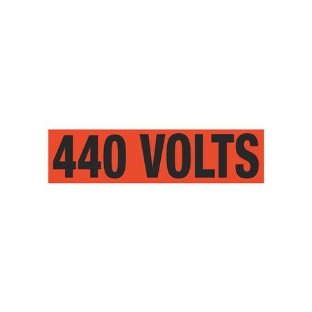 440 Volts Single Electrical Marker - EM1