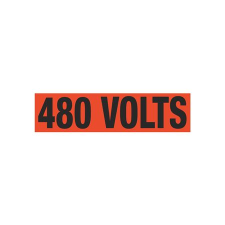 480 Volts Single Electrical Marker - EM1