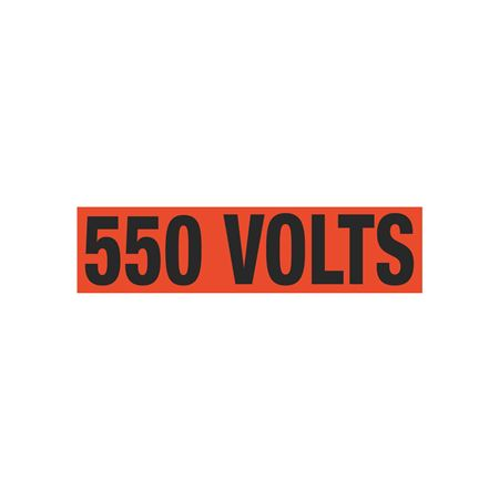 550 Volts Single Electrical Marker - EM1