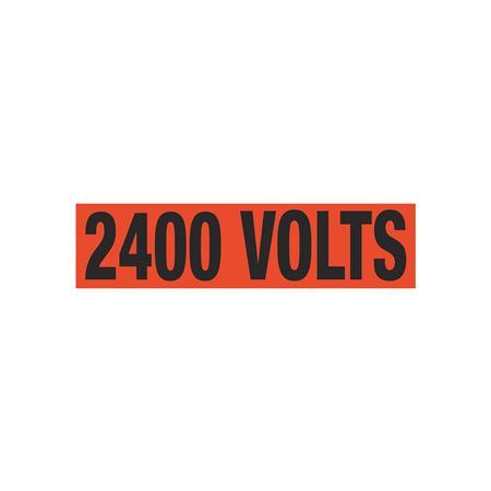 2400 Volts Single Electrical Marker - EM1