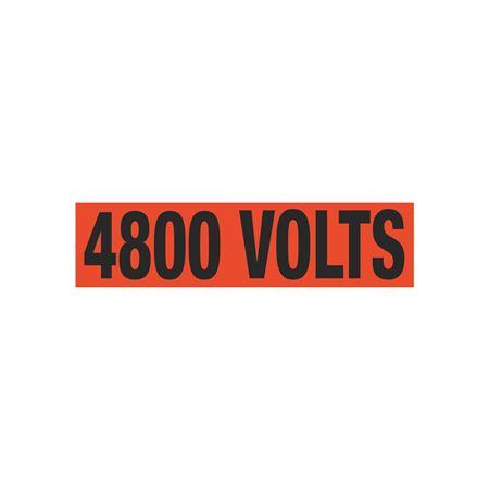 4800 Volts Single Electrical Marker - EM1