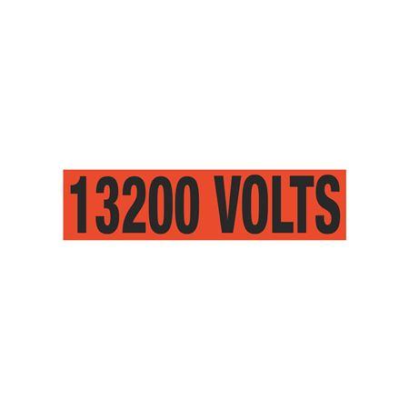13200 Volts Single Electrical Marker - EM1
