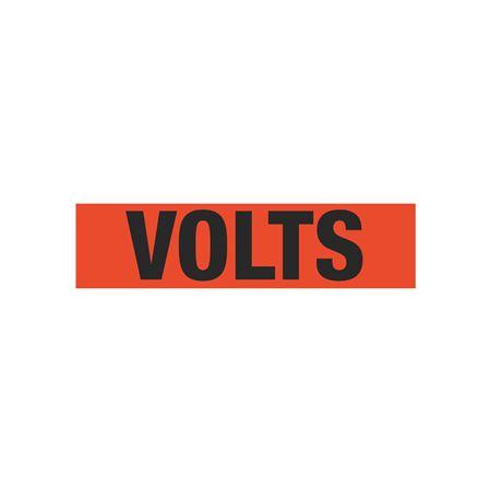 Volts Single Electrical Marker - EM1