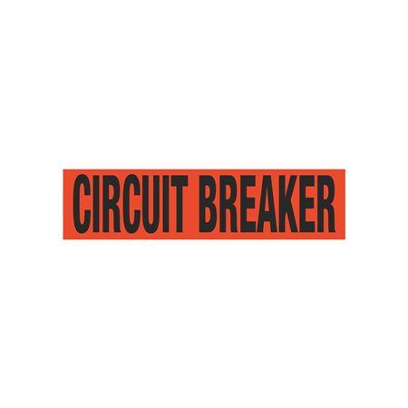 Circuit Breaker Single Electrical Marker - EM1