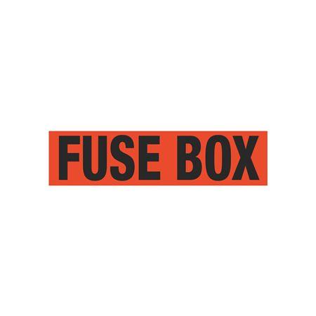 Fuse Box Single Electrical Marker - EM1