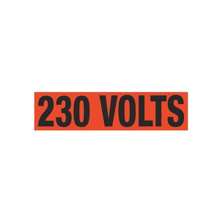 230 Volts Single Electrical Marker - EM1