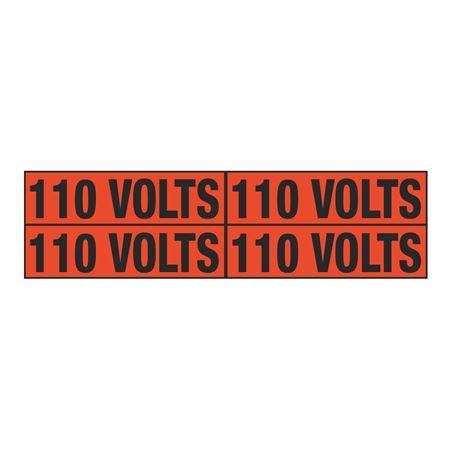 110 Volts Quad Electrical Marker - EM2