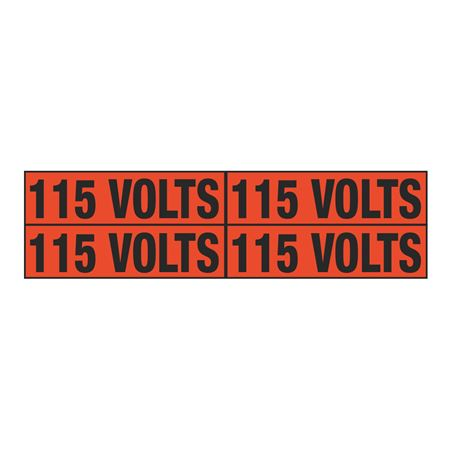 115 Volts Quad Electrical Marker - EM2