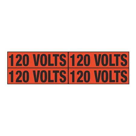 120 Volts Quad Electrical Marker - EM2