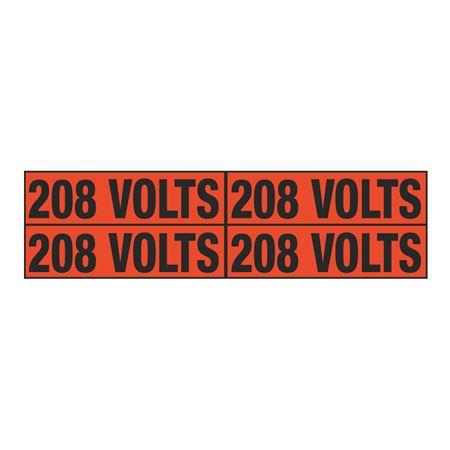 208 Volts Quad Electrical Marker - EM2