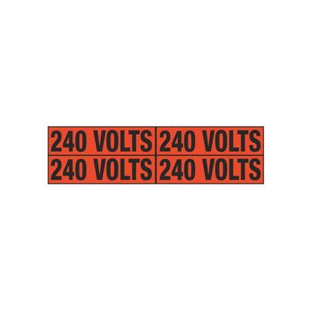 240 Volts Quad Electrical Marker - EM2