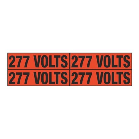 277 Volts Quad Electrical Marker - EM2