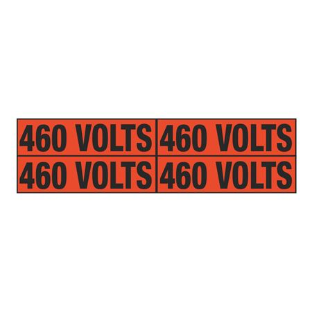 460 Volts Quad Electrical Marker - EM2