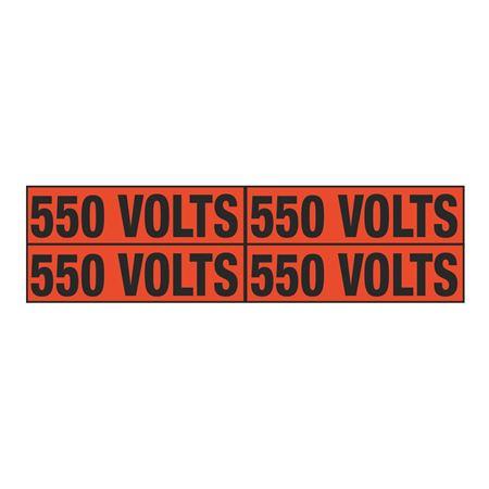 550 Volts Quad Electrical Marker - EM2