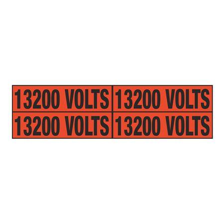 13200 Volts Quad Electrical Marker - EM2