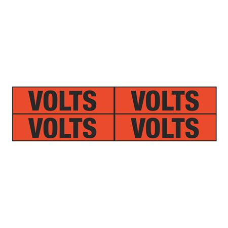 Volts Quad Electrical Marker - EM2