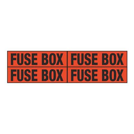Fuse Box Quad Electrical Marker - EM2