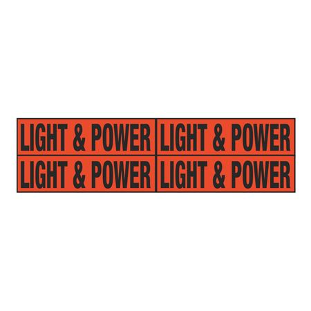 Light & Power Quad Electrical Marker - EM2