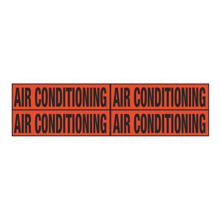 Air Conditioning Quad Electrical Marker - EM2