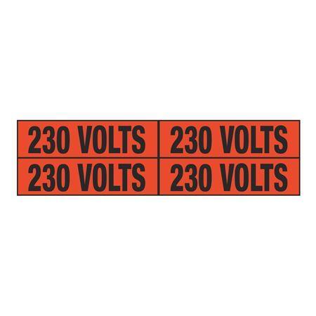 230 Volts Quad Electrical Marker - EM2