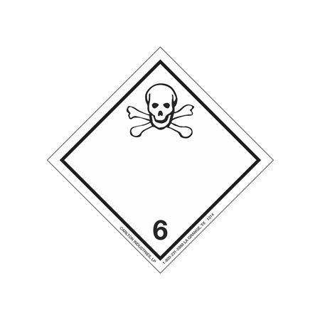 International Wordless Labels - Poison 6