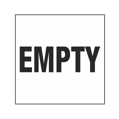 Empty Label