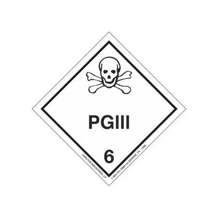 PGIII Shipping Label