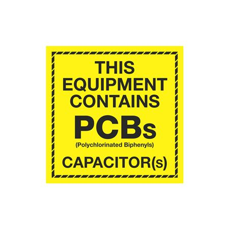 PCB Labels - This Equipment Contains PCBs