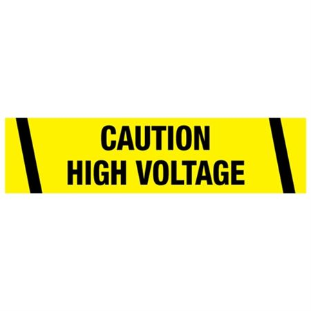 Caution High Voltage Tape
