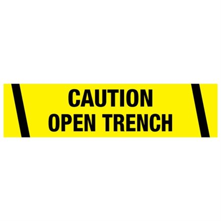Caution Open Trench Tape
