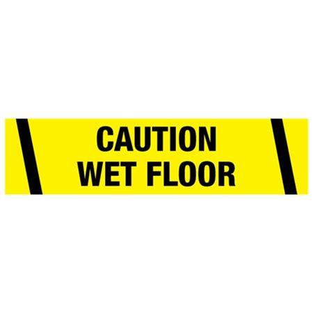 Caution Wet Floor Tape