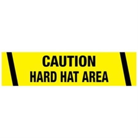 Caution Hard Hat Area Tape