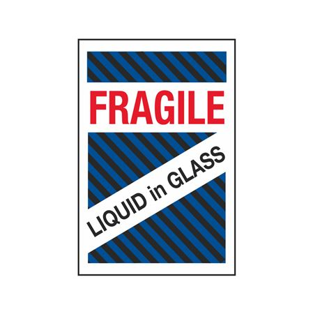 Fragile Liquid in Glass - 4 x 6