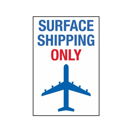 Surface Shipping Only - 4 x 6