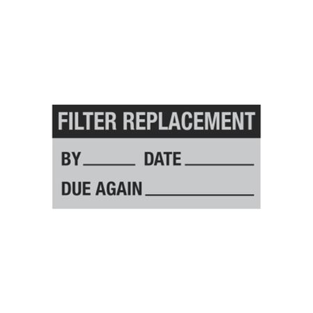All Weather Filter Replacement Decal - 1 x 2