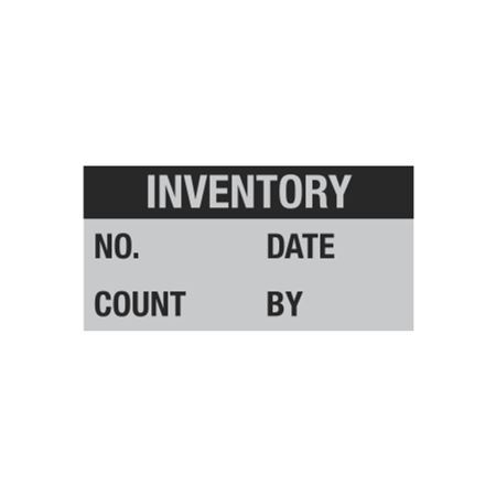 All Weather Inventory Decal - 1 x 2