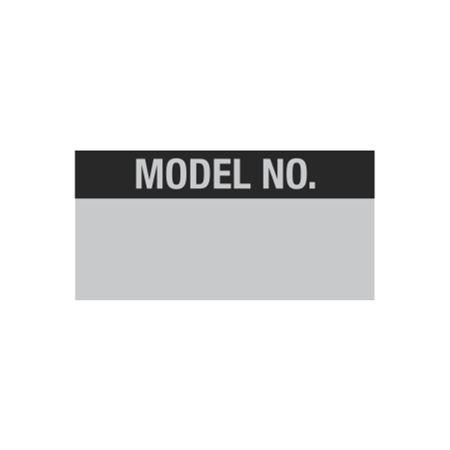 Misc. Decals - Model No. - 1 x 2