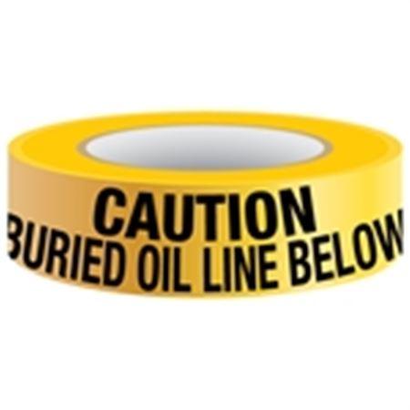 Underground Tape-Non-Detectable-Caution Buried Oil Line