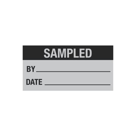 All Weather Calibration Decals (QualityControl) - Sampled By_____ Date_____ 1 x 2