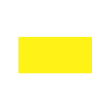 All Weather Calibration Decals (Miscellaneous) - Blank - Yellow 1 x 2
