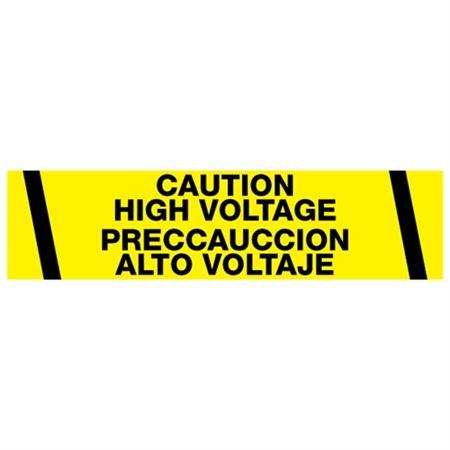 Caution High Voltage / P … uccion Alt Voltaje Tape