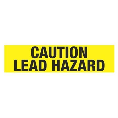 Caution Lead Hazard Tape