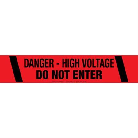 Danger - High Voltage Do Not Enter Tape